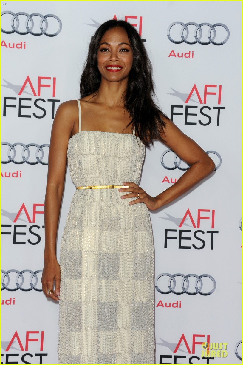 zoe saldana out of the furnace hollywood screening 172989468