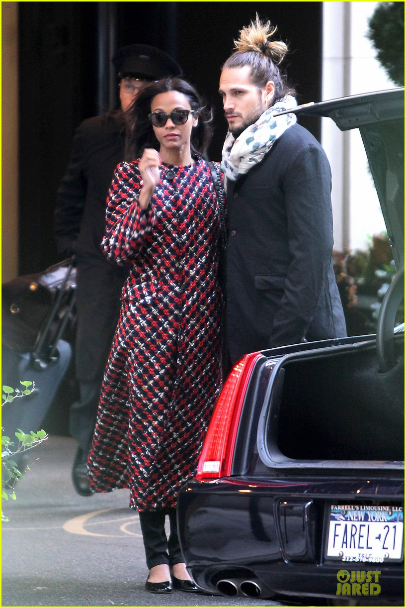 zoe saldana kisses marco perego after face tattoo flash 062988701