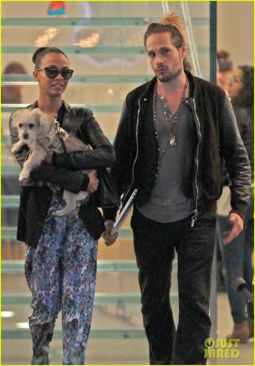 zoe saldana marco perego hold hands look so in love 062983995