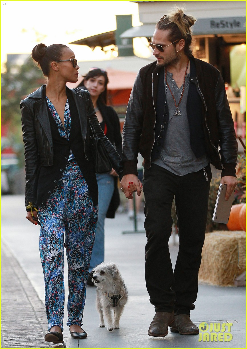 zoe saldana marco perego hold hands look so in love 16