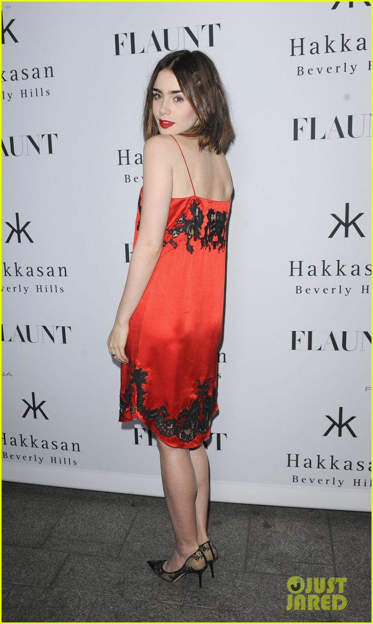Lily Collins Amp Bella Thorne Flaunt Magazine Party In