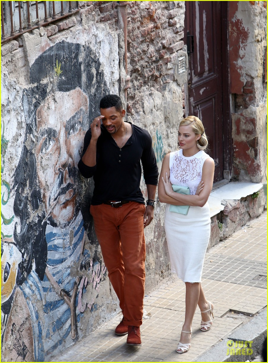 will smith margot robbie focus filming in argentina 012998612