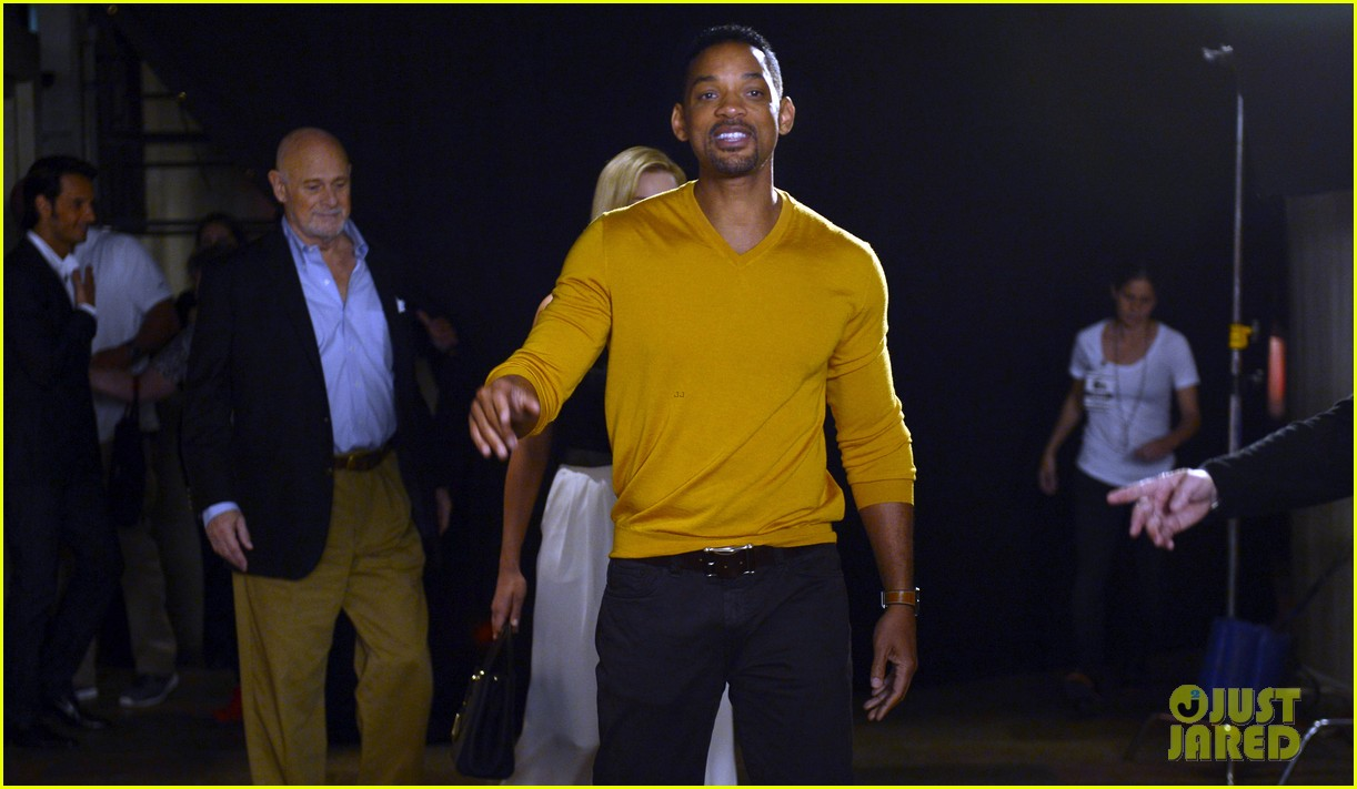 will smith margot robbie focus press conference in argentina 052997059