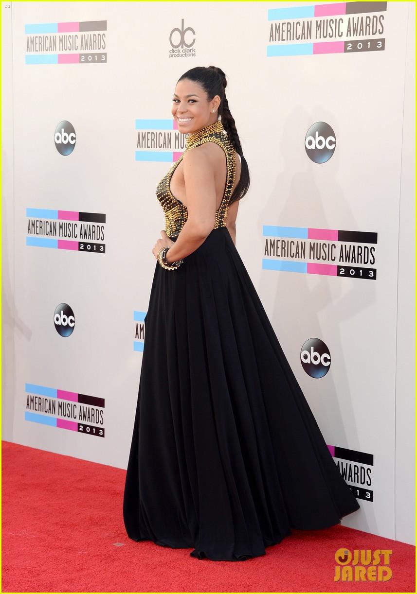jordin sparks american music awards 2013 red carpet 052999151
