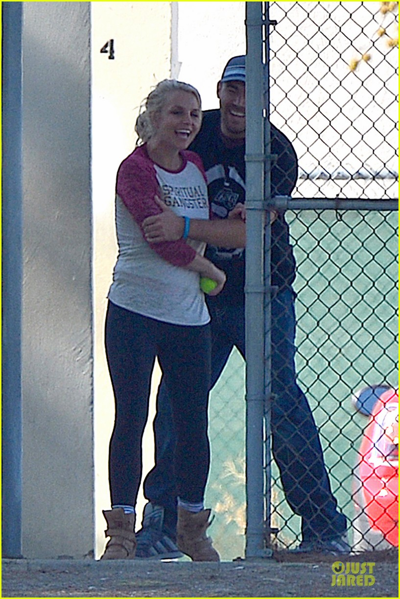 britney spears david lucado soccer game with kevin federline 102989150