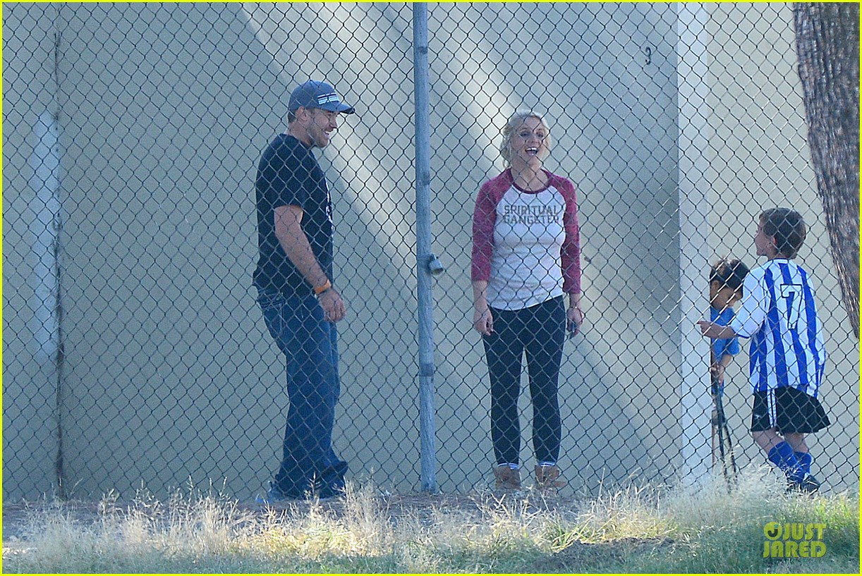 britney spears david lucado soccer game with kevin federline 13