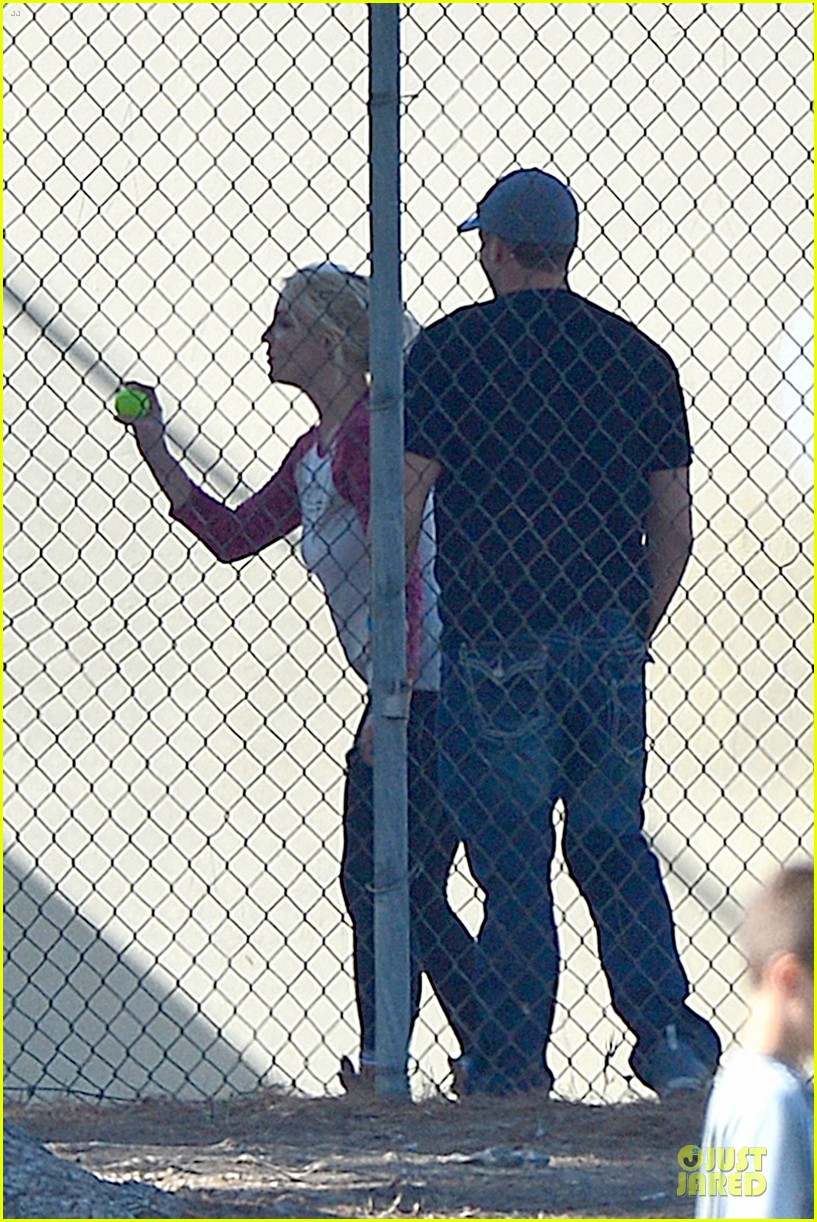 britney spears david lucado soccer game with kevin federline 162989156