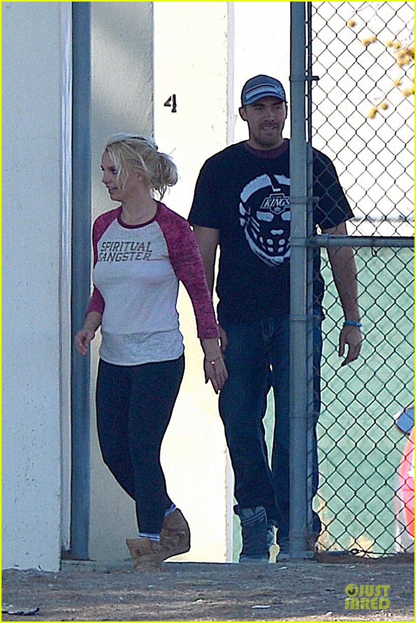 britney spears david lucado soccer game with kevin federline 172989157