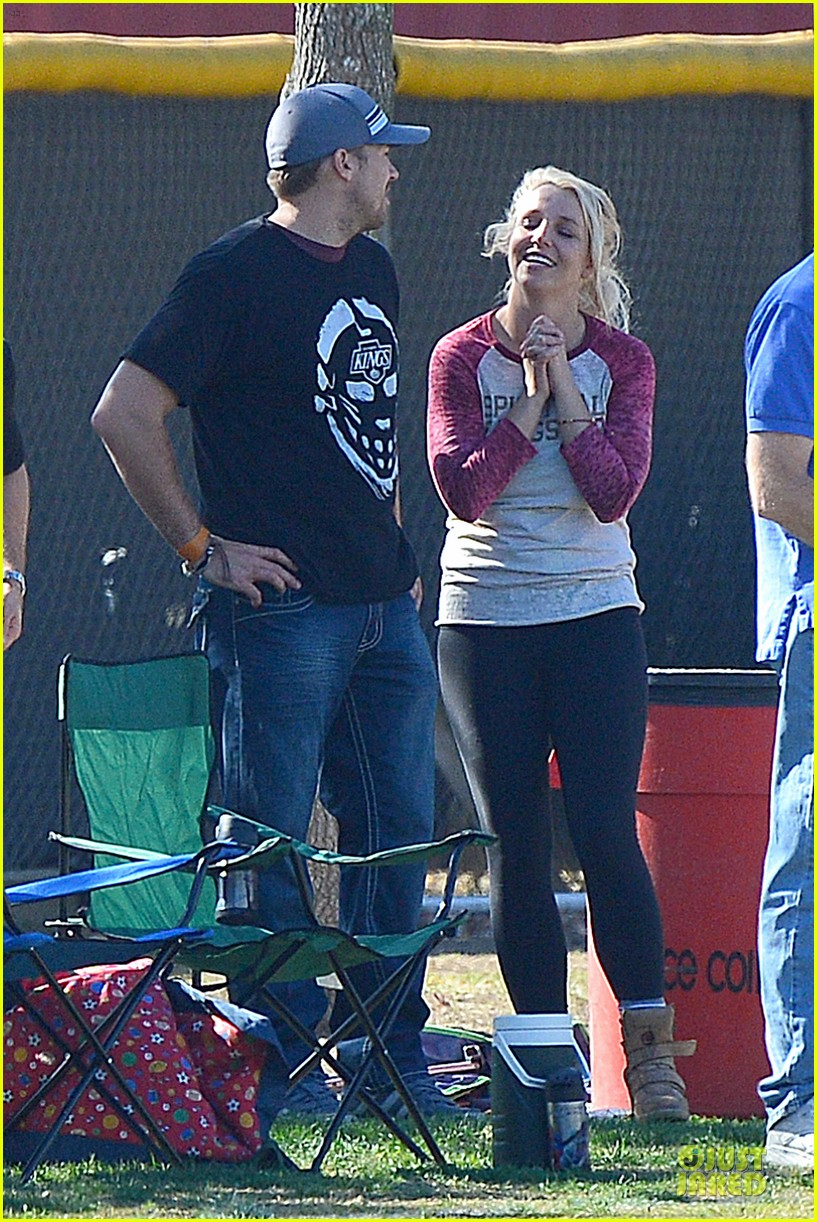 britney spears david lucado soccer game with kevin federline 182989158