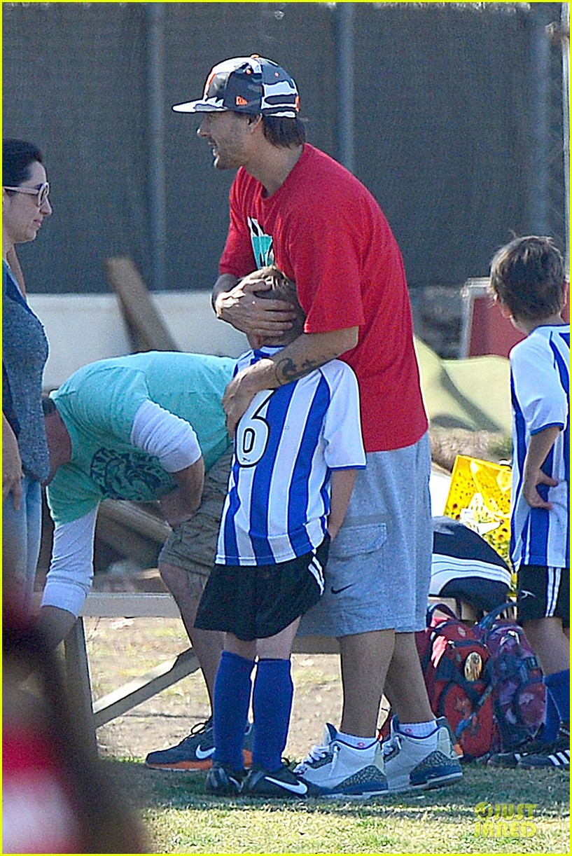 britney spears david lucado soccer game with kevin federline 202989160