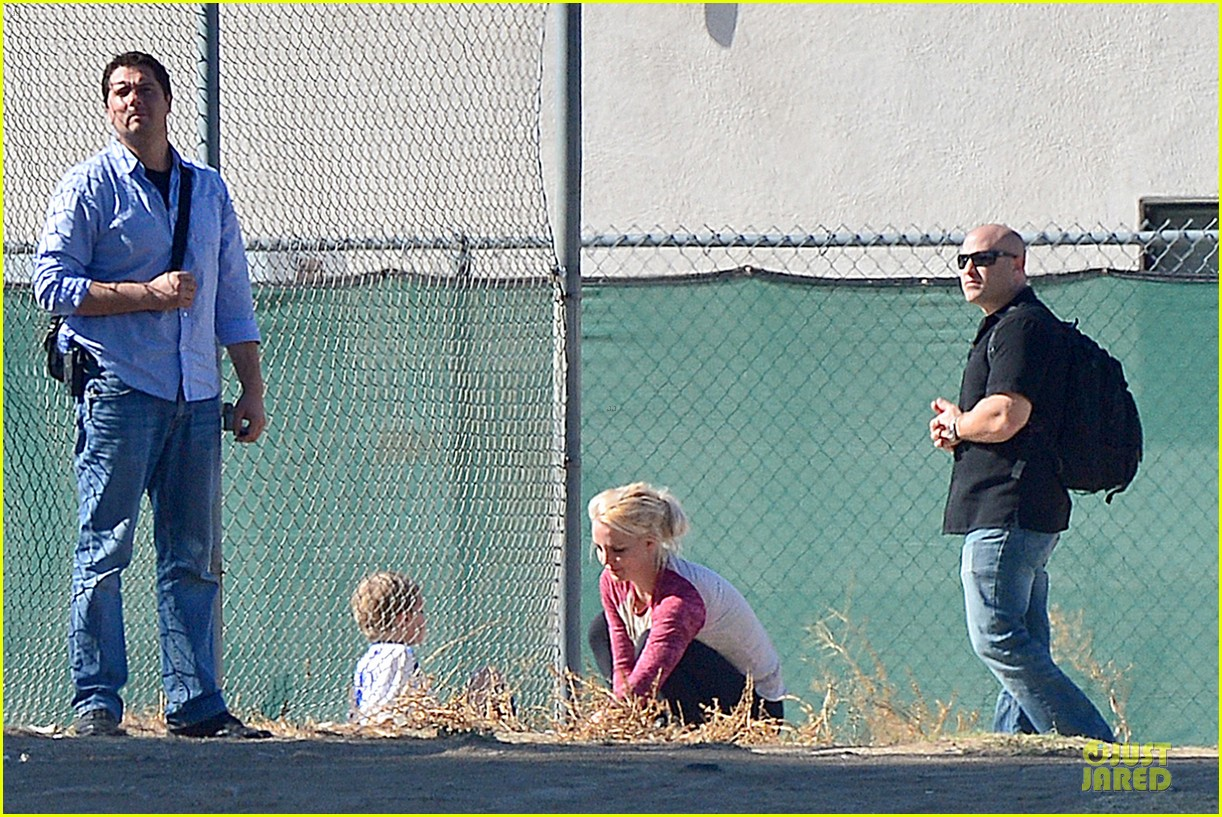 britney spears david lucado soccer game with kevin federline 212989161