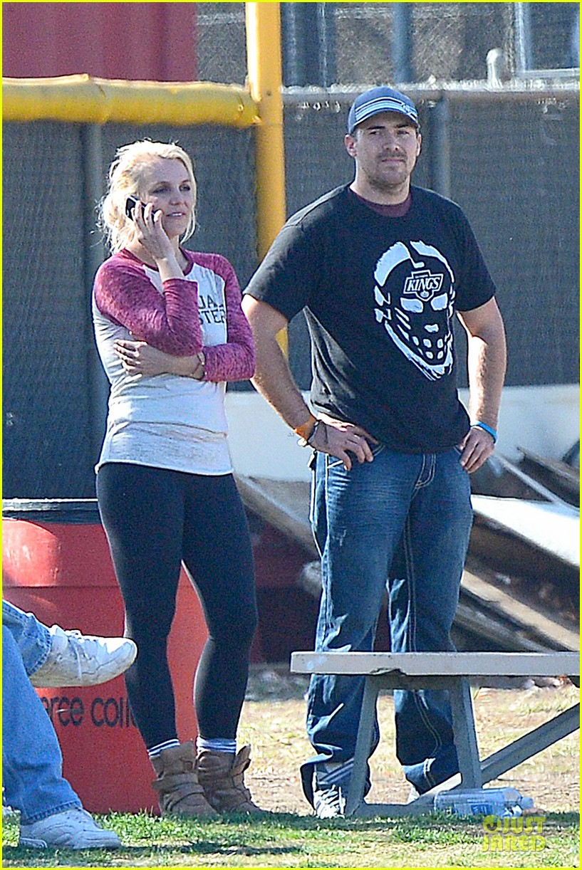 britney spears david lucado soccer game with kevin federline 252989165