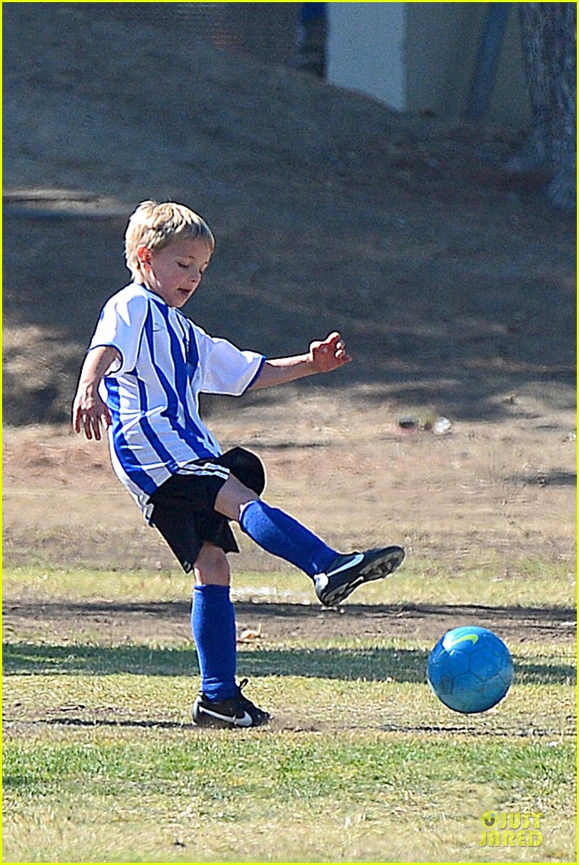 britney spears david lucado soccer game with kevin federline 332989173