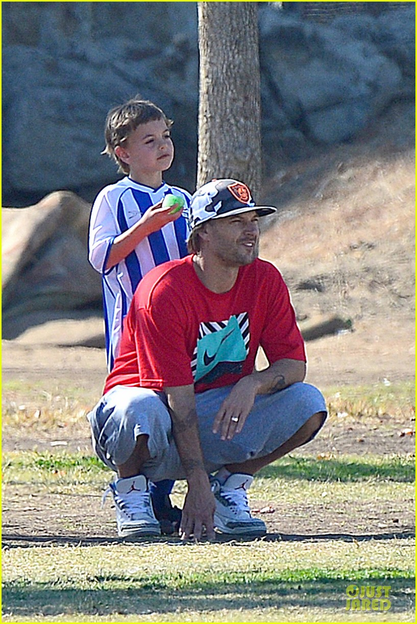 britney spears david lucado soccer game with kevin federline 352989175