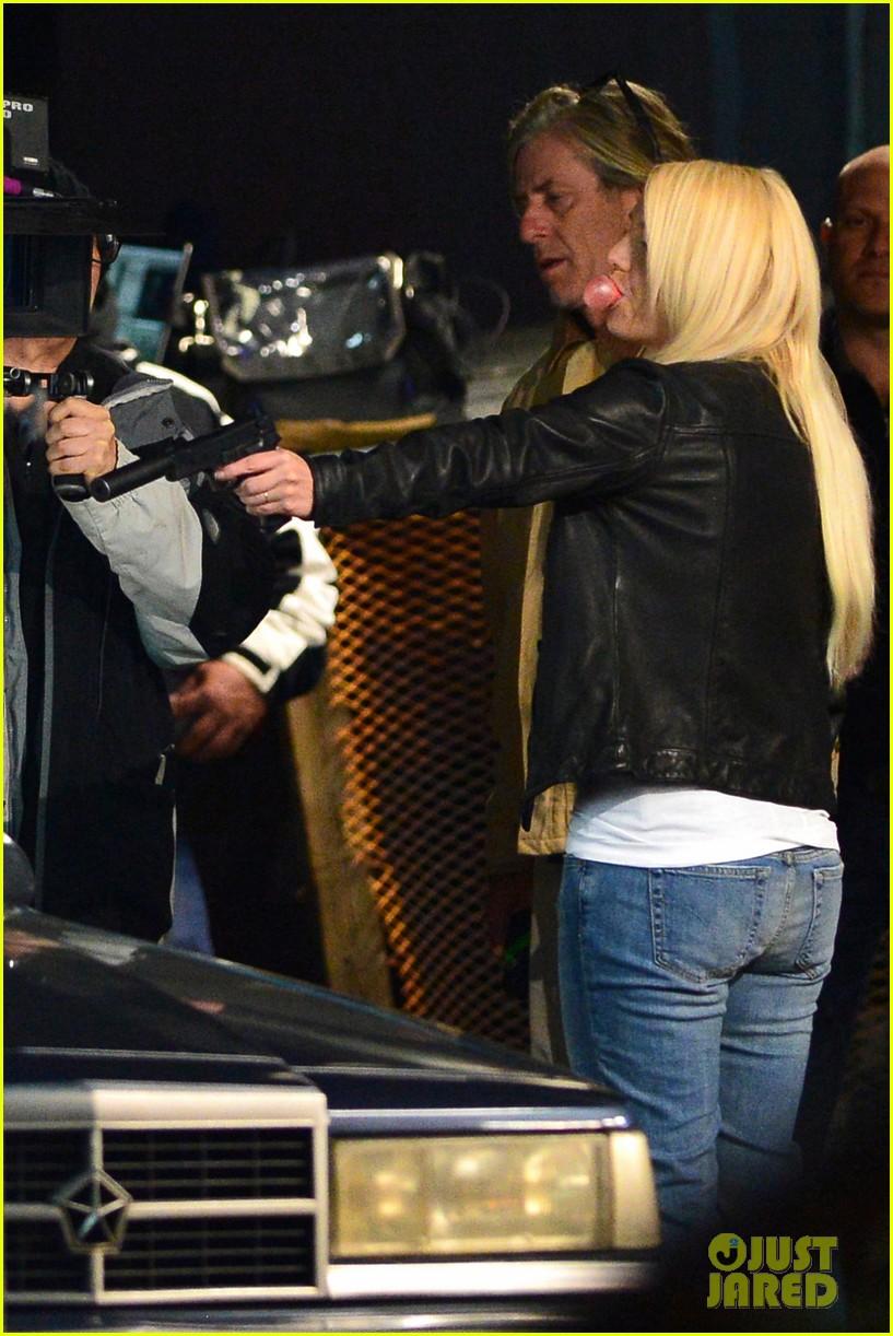 britney spears wears virginia tech sweatshirt shoots fun for music video 042997131