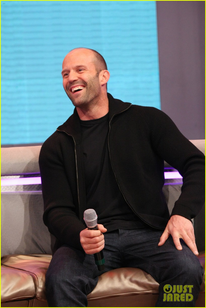jason statham promotes homefront on 106 park 022986466