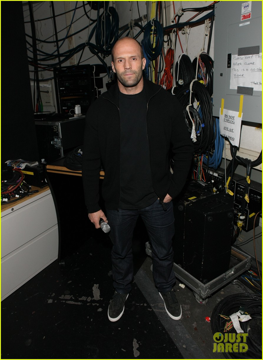jason statham promotes homefront on 106 park 042986468