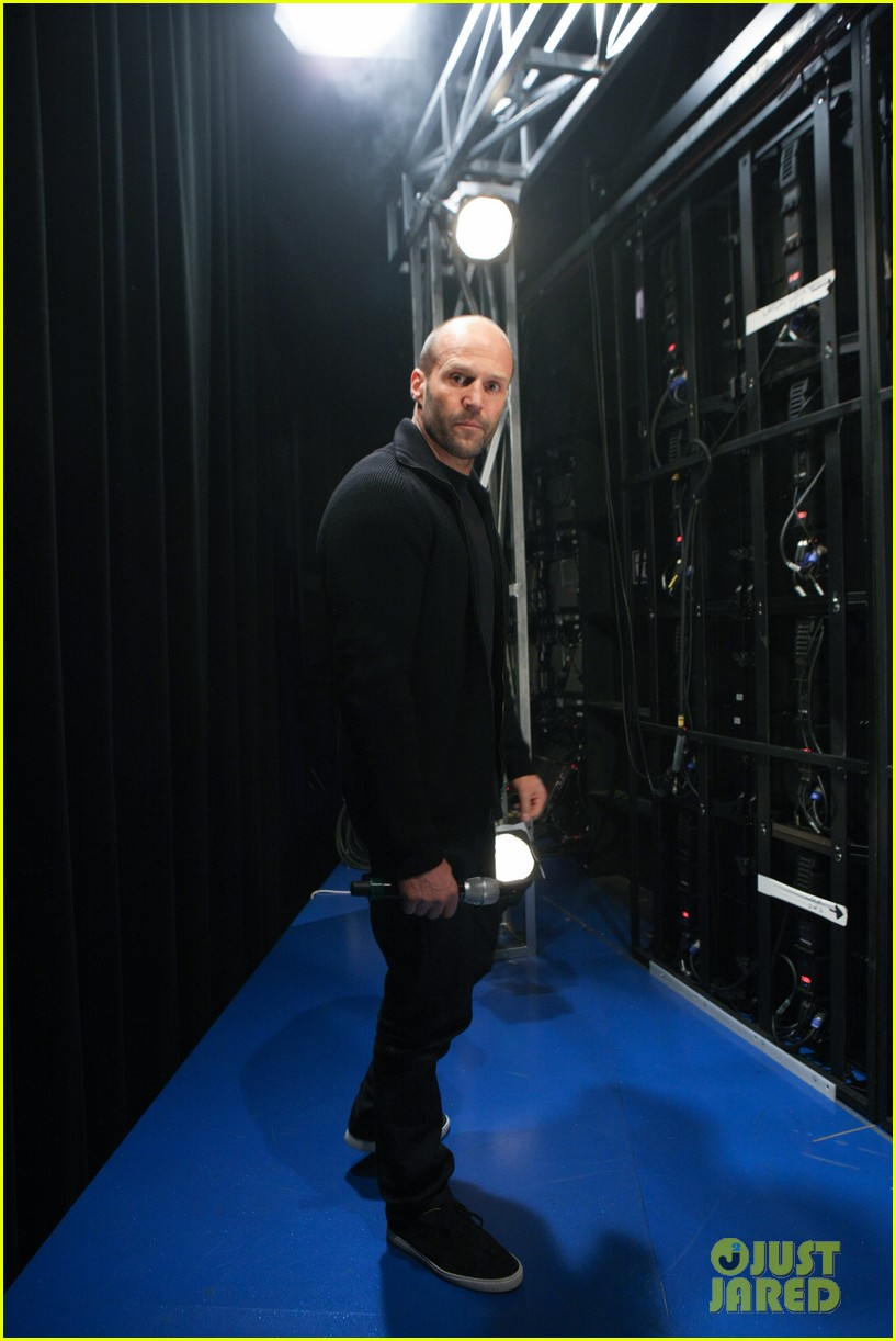 jason statham promotes homefront on 106 park 072986471