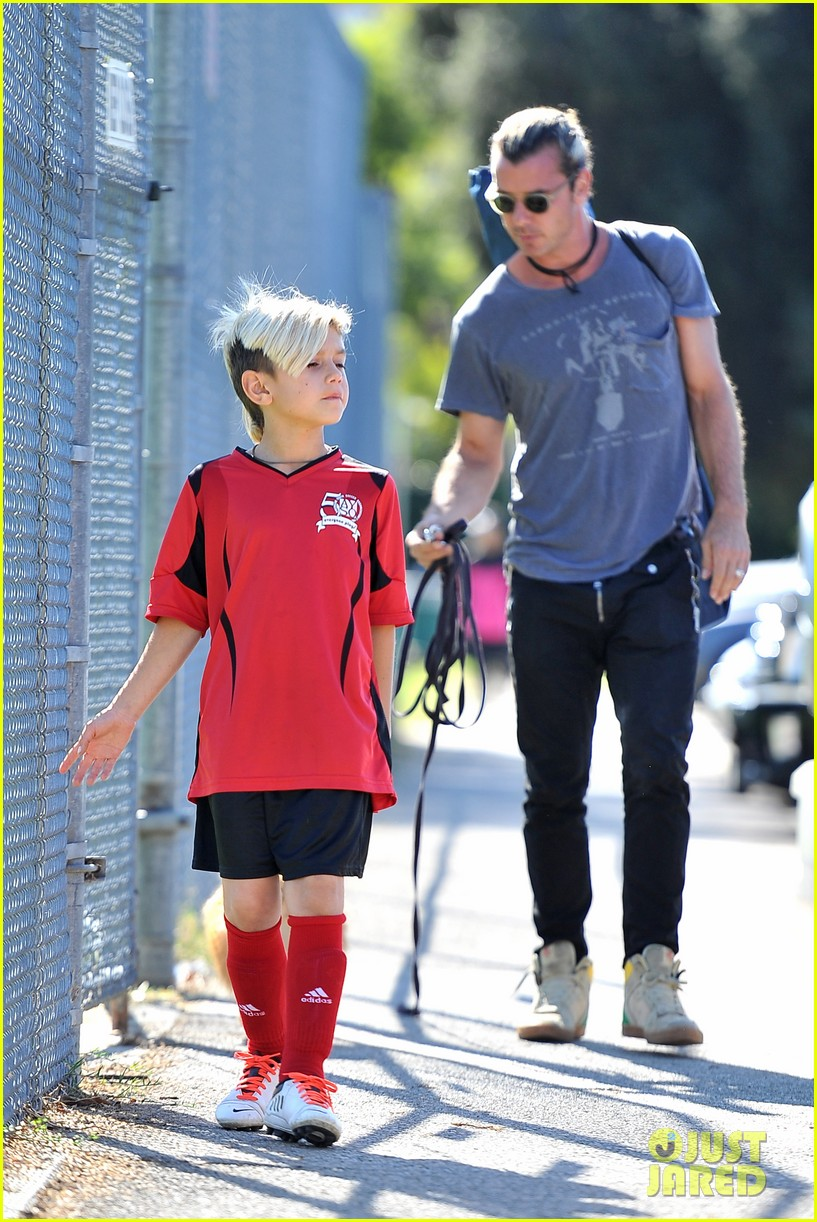 gwen stefani gavin rossdale keep busy over the weekend 102985741