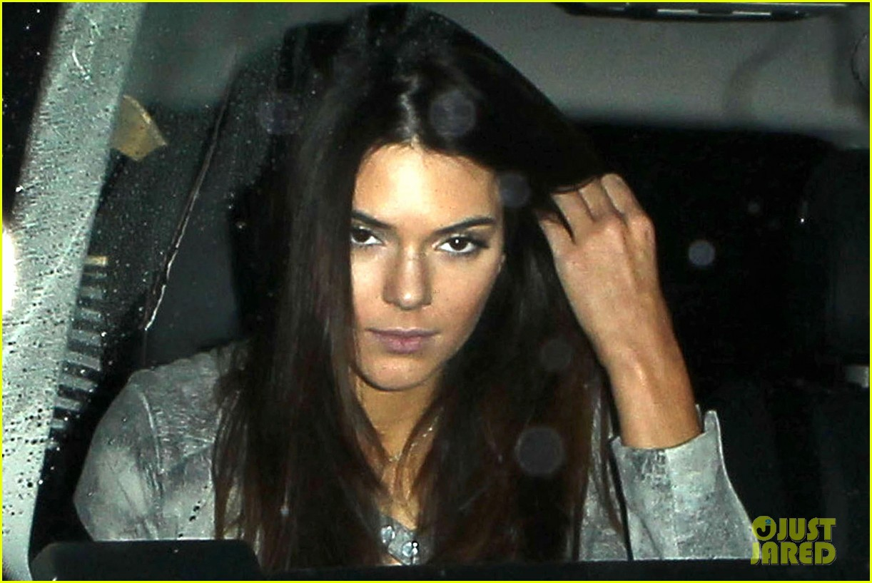 harry styles kendall jenner leave dinner together 022997272