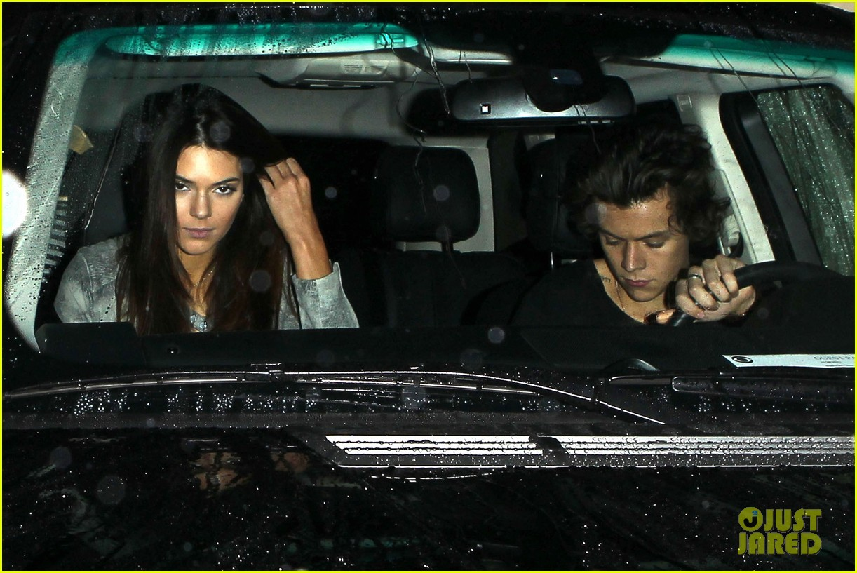 harry styles kendall jenner leave dinner together 072997277