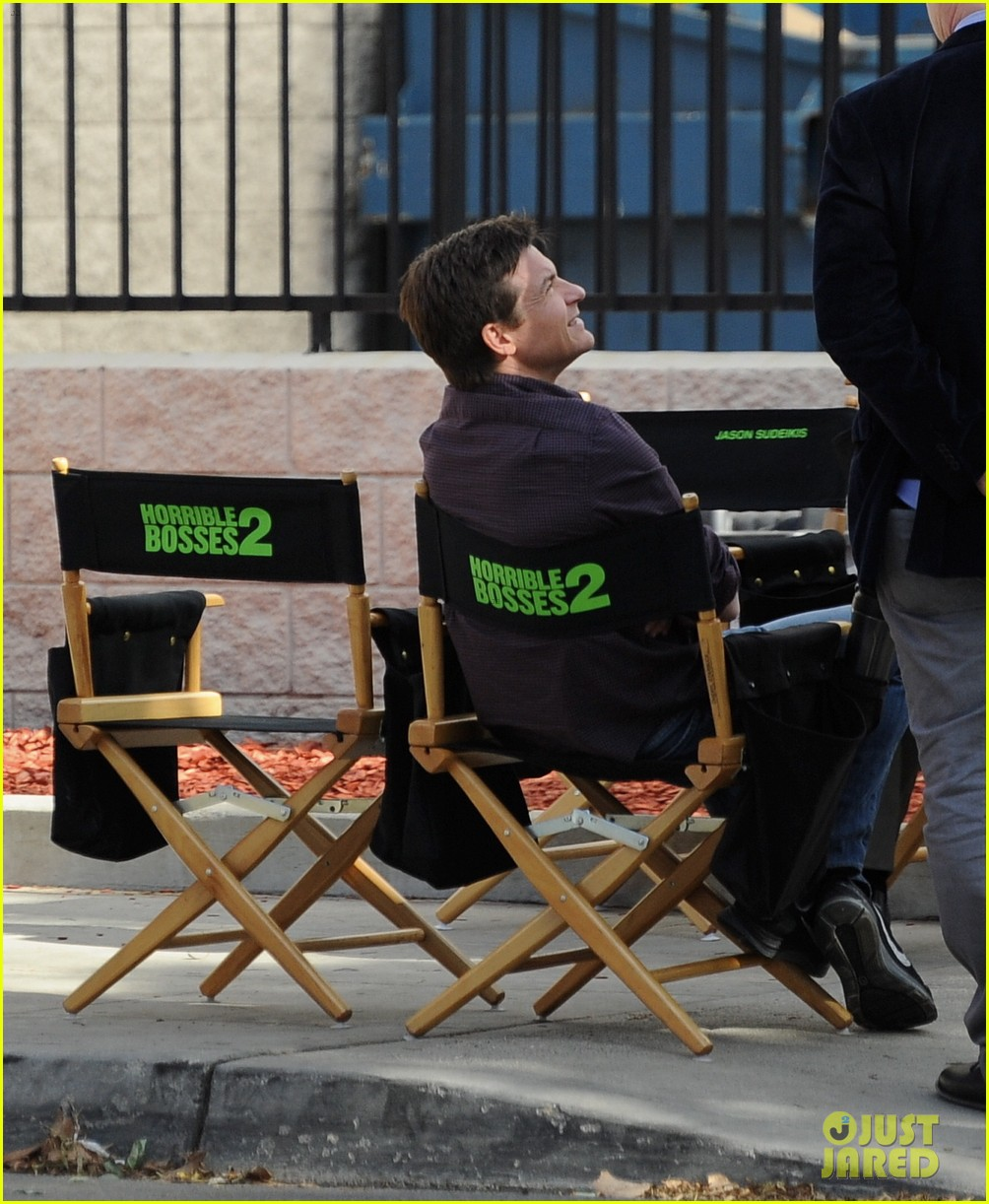 jason sudeikis jason bateman work on horrible bosses 2 16