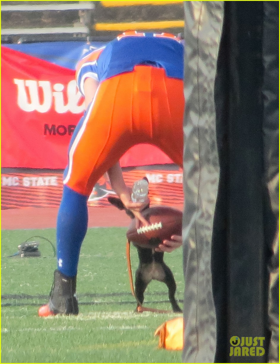 channing tatum filming 22 jump street football game 032991657