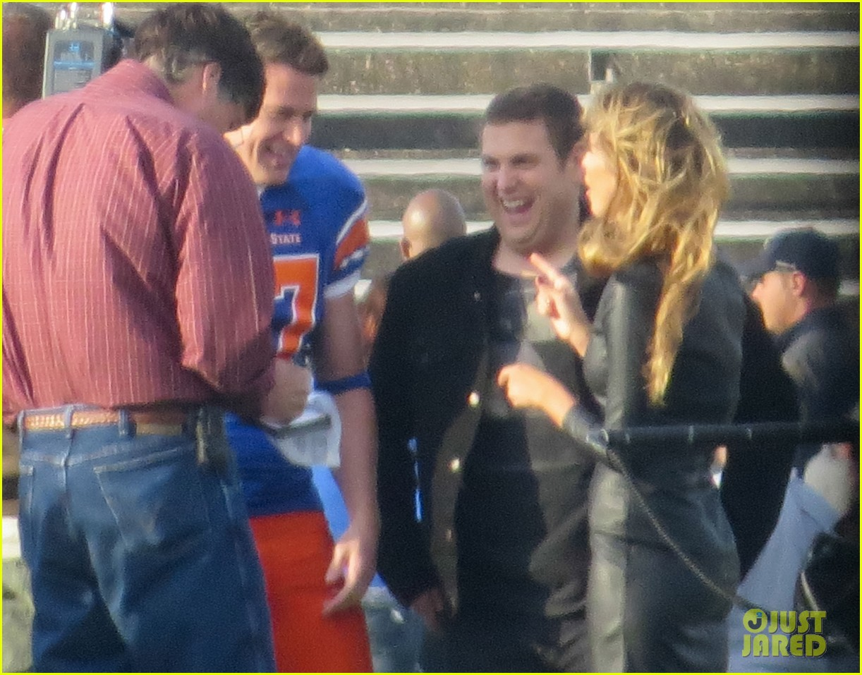 channing tatum filming 22 jump street football game 132991667
