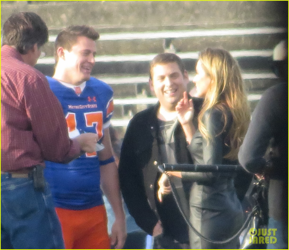 channing tatum filming 22 jump street football game 15