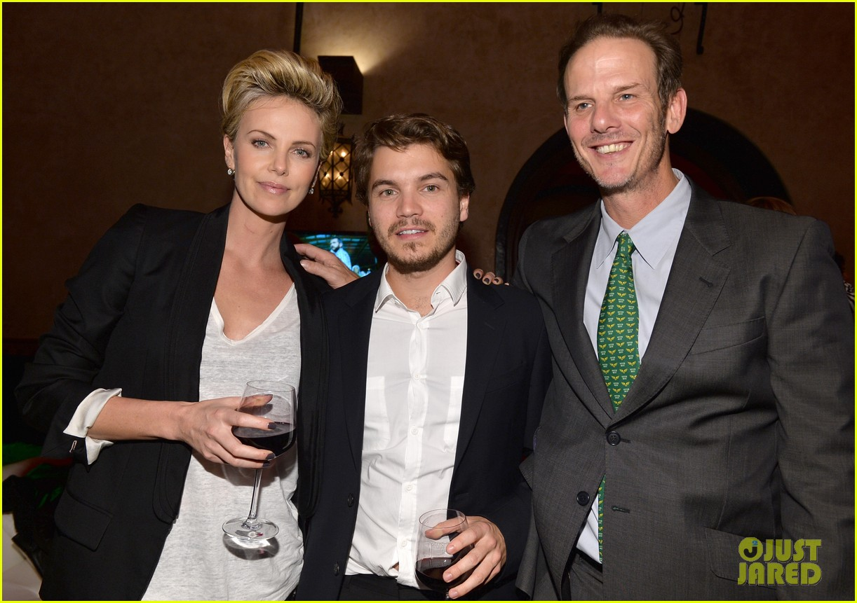 charlize theron mark wahlberg reunite at premiere after party 032991931