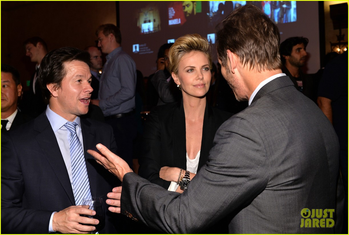 charlize theron mark wahlberg reunite at premiere after party 072991935