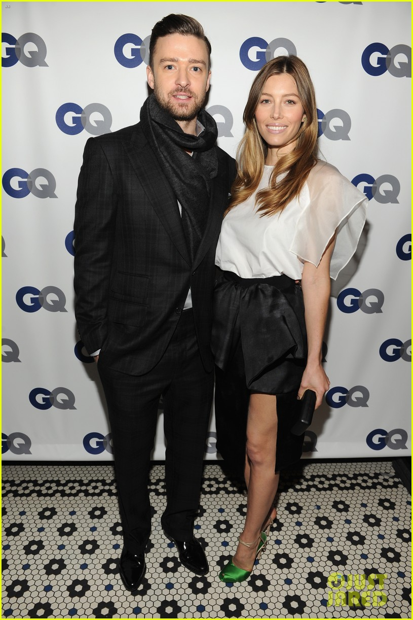 justin timberlake jessica biel gqs men of the year dinner 012990995