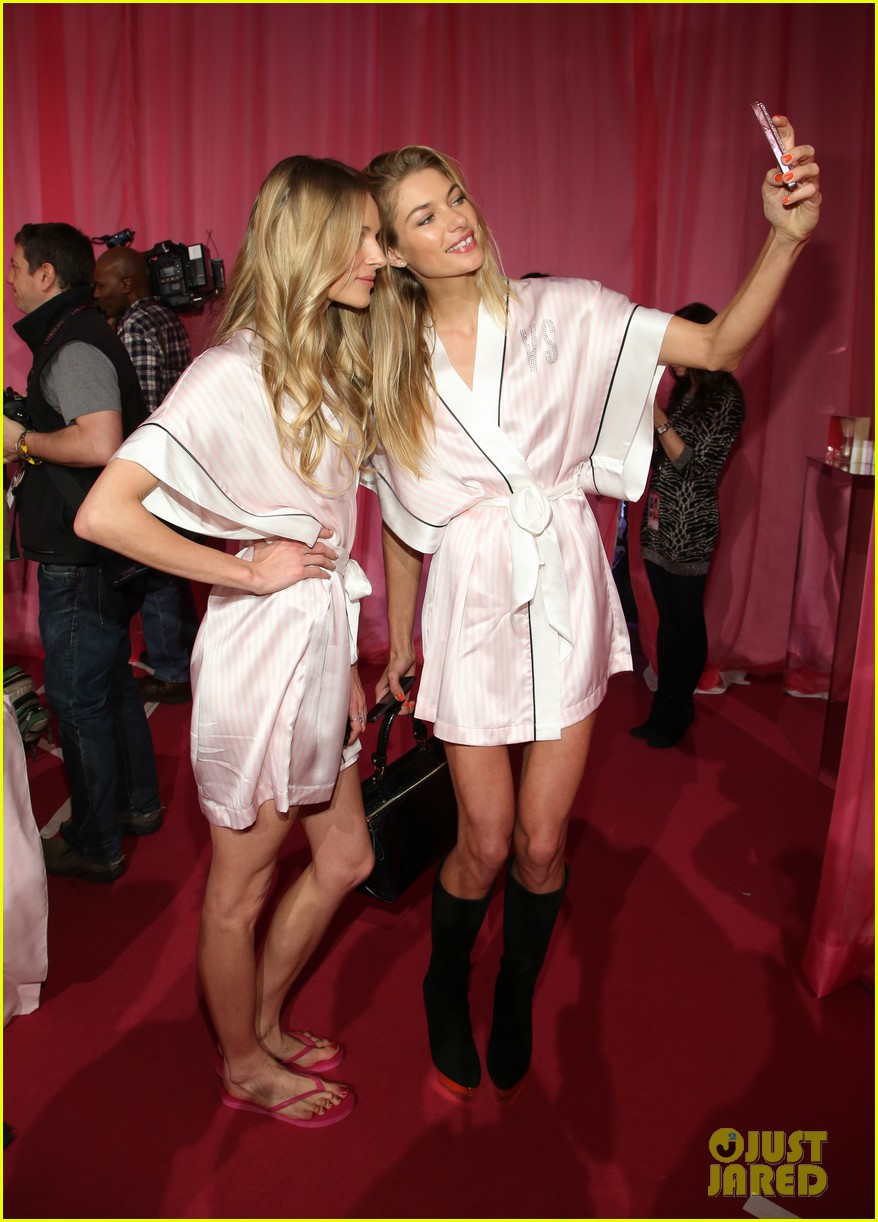 victorias secret angels prep for fashion show 2013 pics 252991848