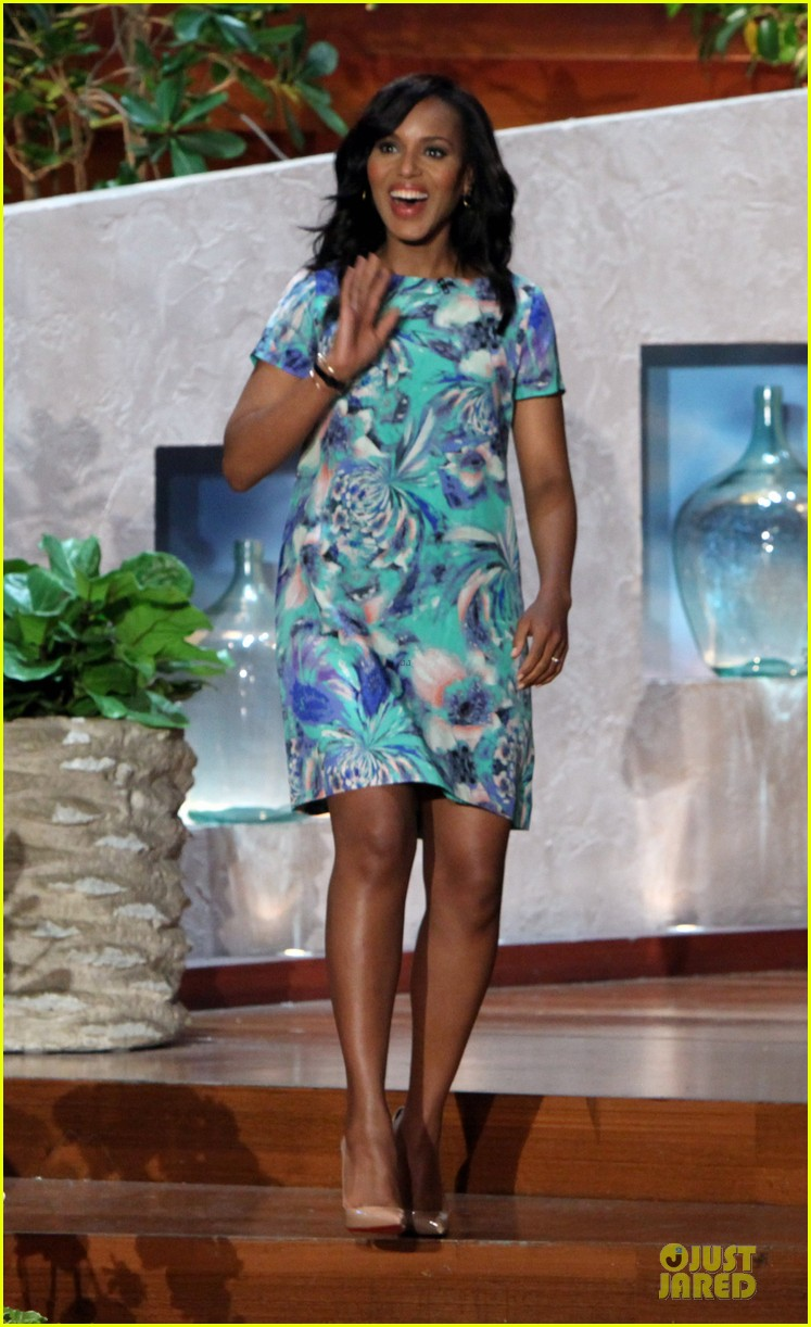 kerry washington talks magazine covers on ellen 012992392
