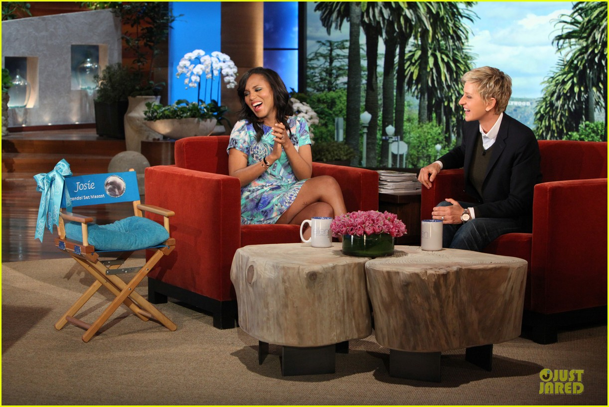 kerry washington talks magazine covers on ellen 022992393