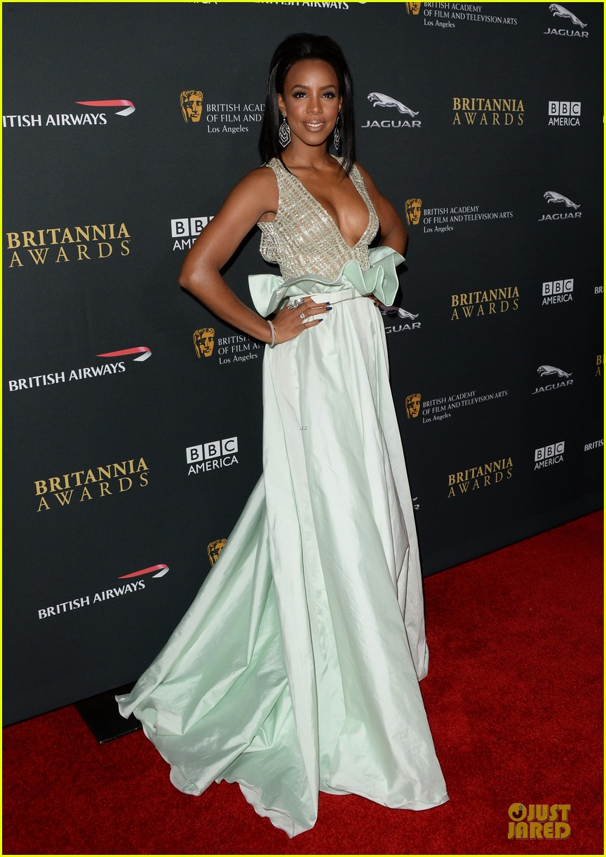 suki waterhouse kelly rowland bafta britannia awards 2013 red carpet 192989375