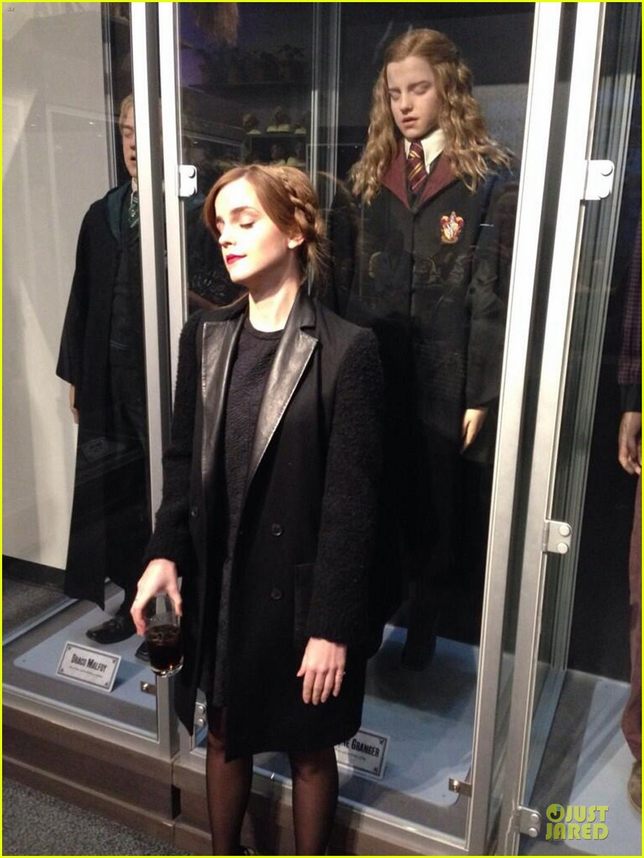 emma watson harry potter reunion with jk rowling 042989215