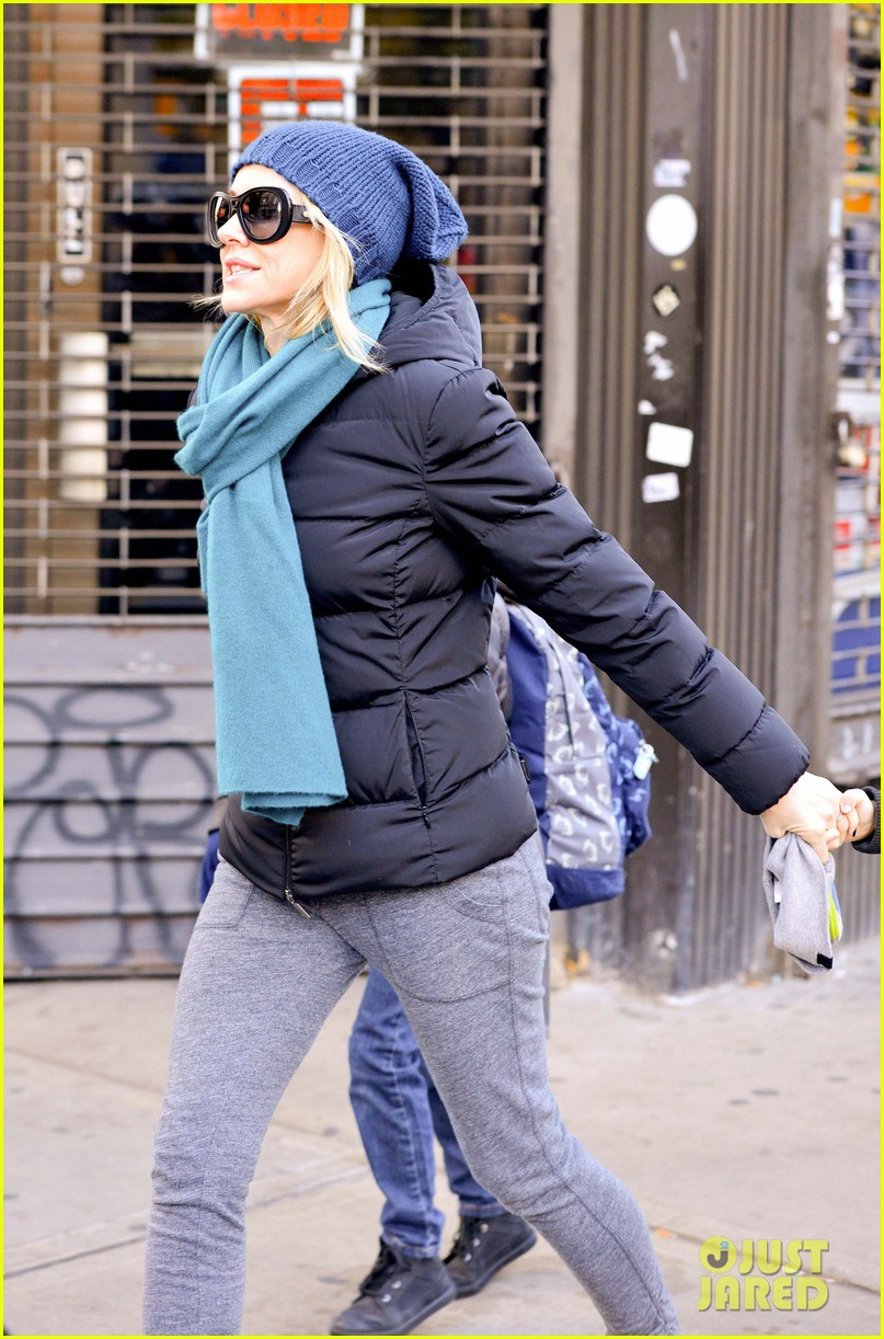 naomi watts braves chilly weather for school walk 09