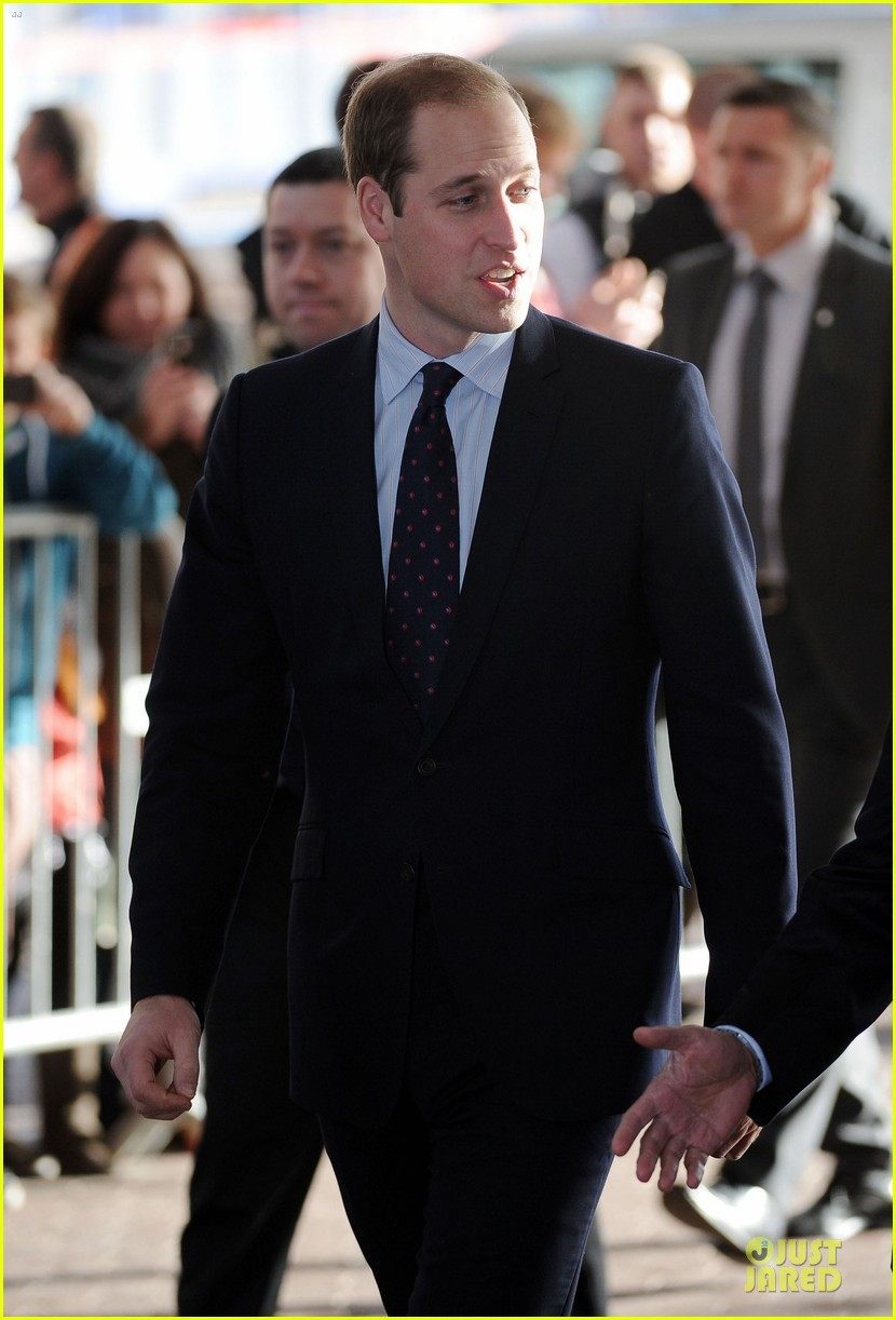 prince william receives gift at motorcycle live show 233002496