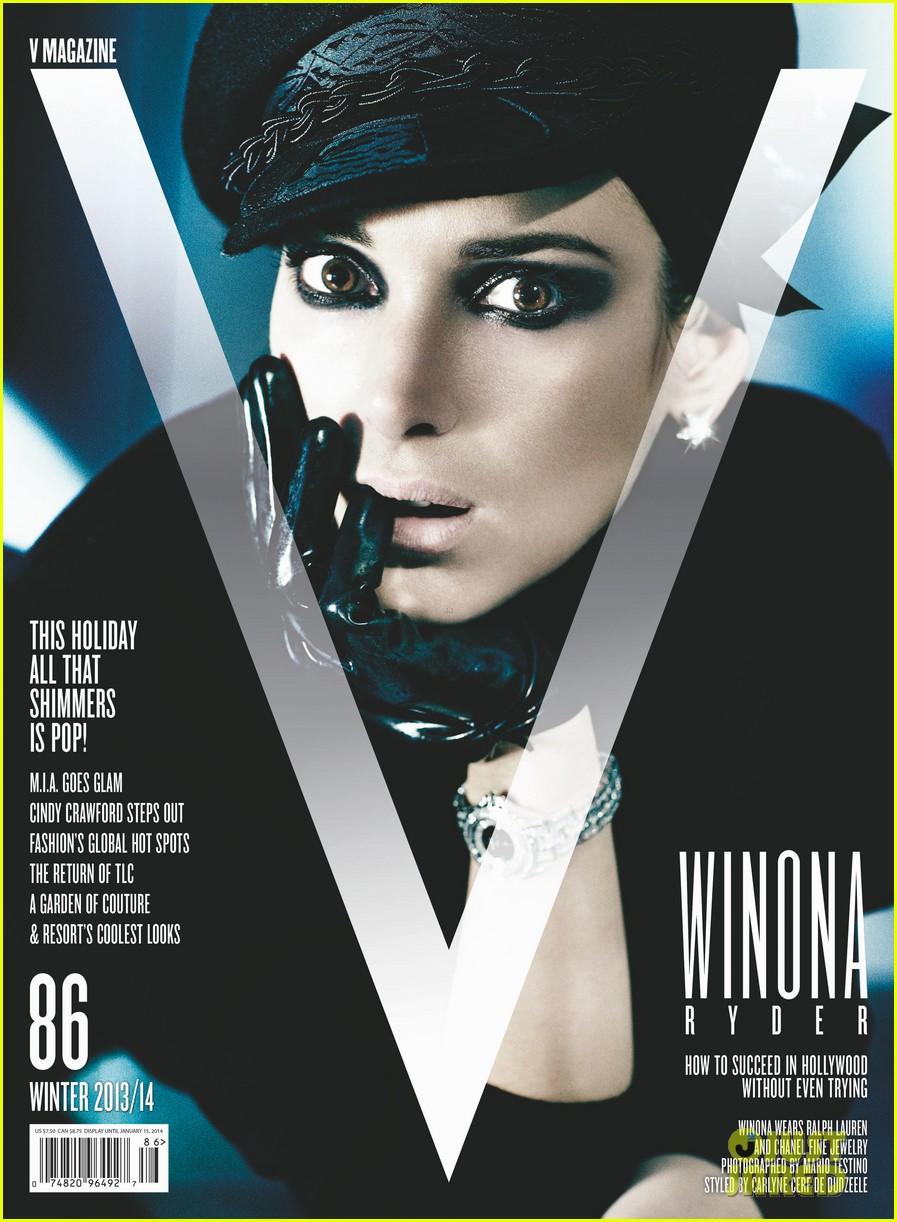 winona ryder goes dramatic for v magazine 01