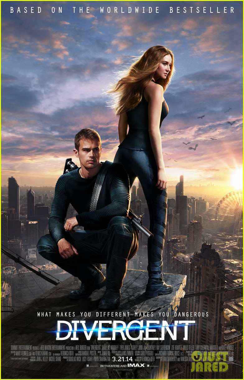 shailene woodley theo james new divergent poster 032991164