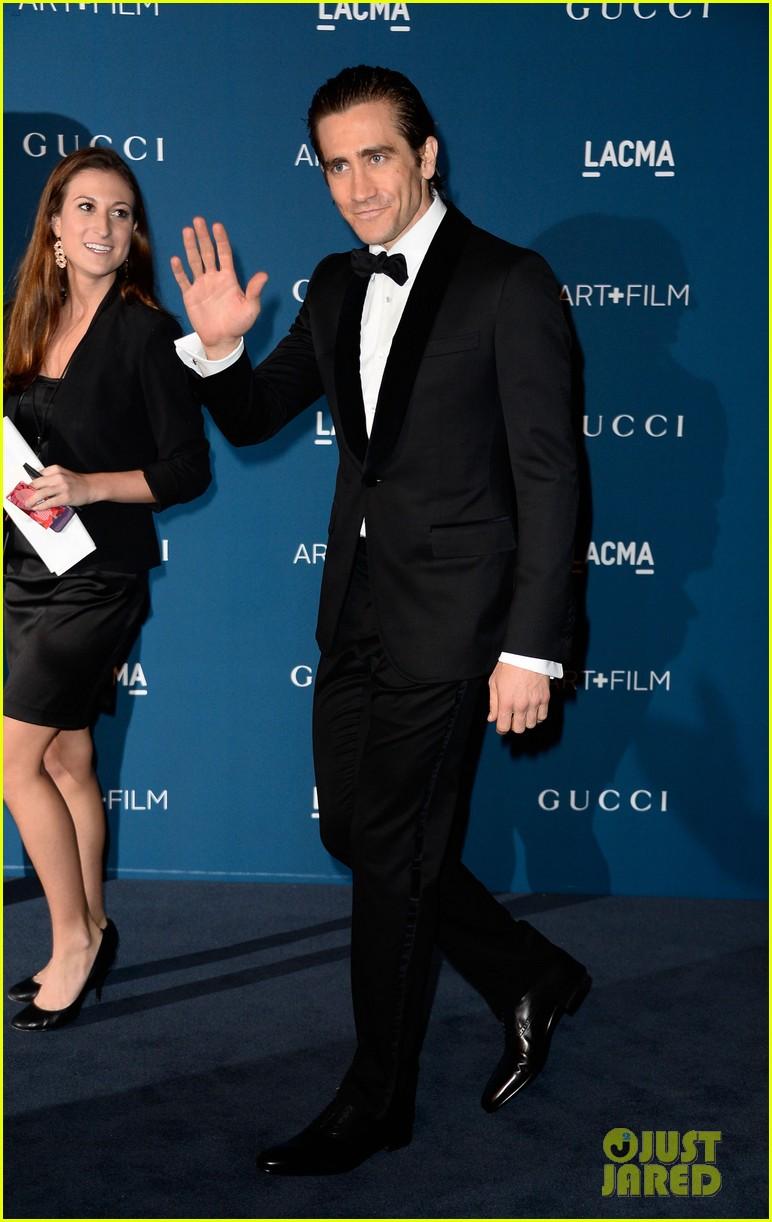 jake gyllenhaal zoe saldana lacma art film gala 2013 02