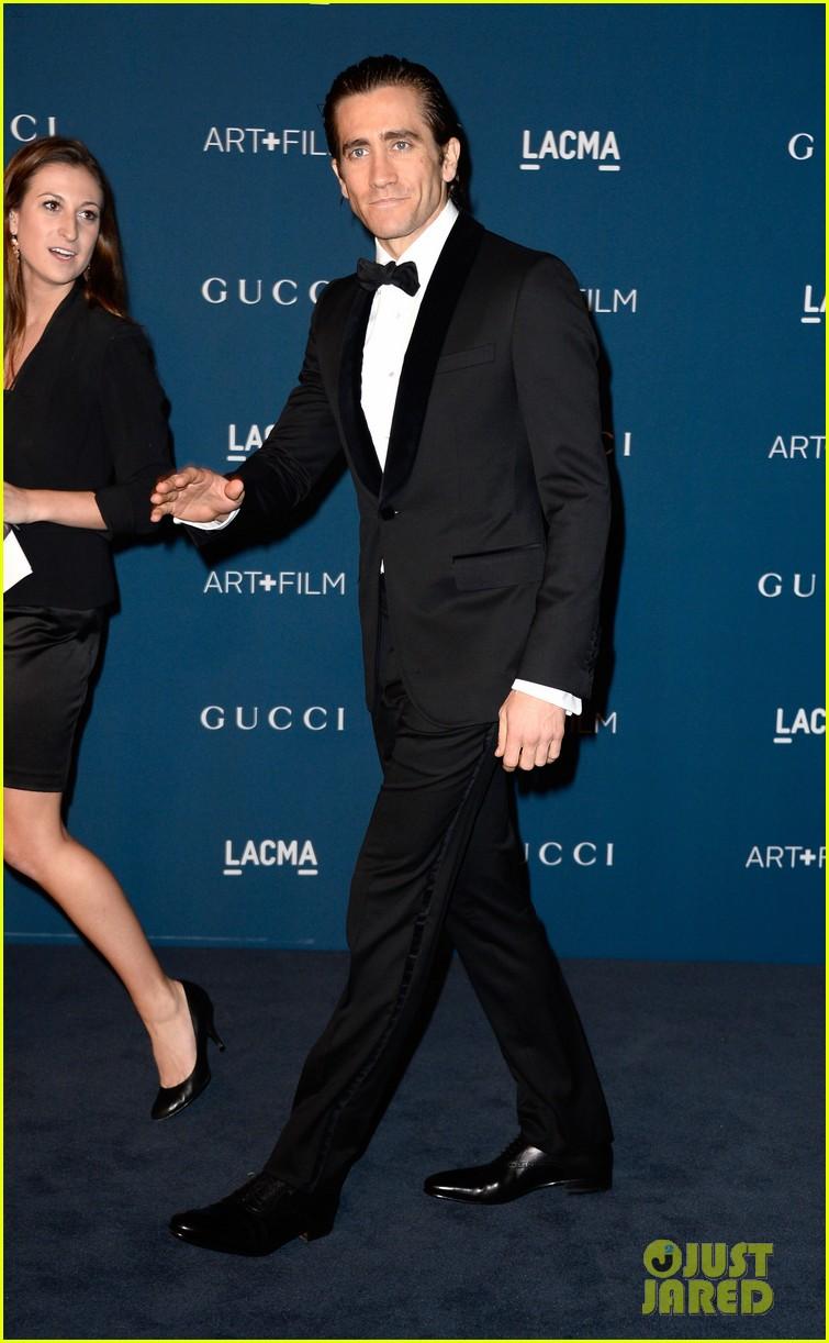 jake gyllenhaal zoe saldana lacma art film gala 2013 042985418