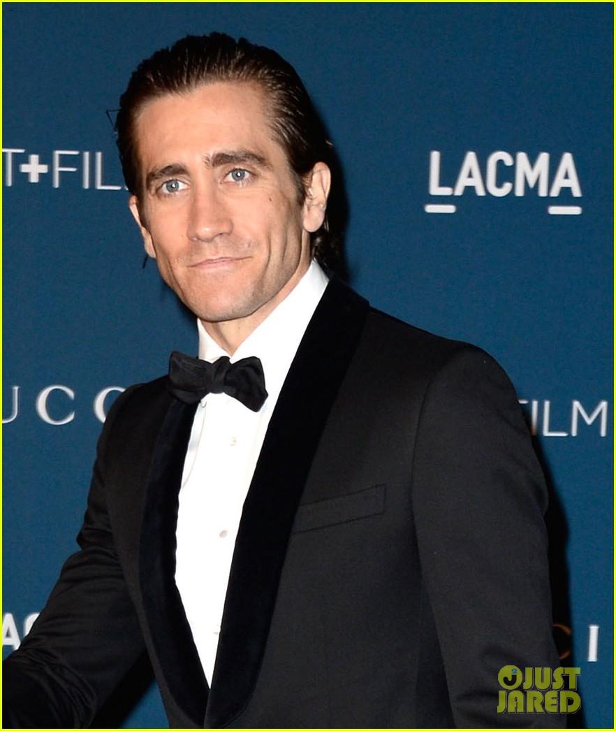 jake gyllenhaal zoe saldana lacma art film gala 2013 072985421