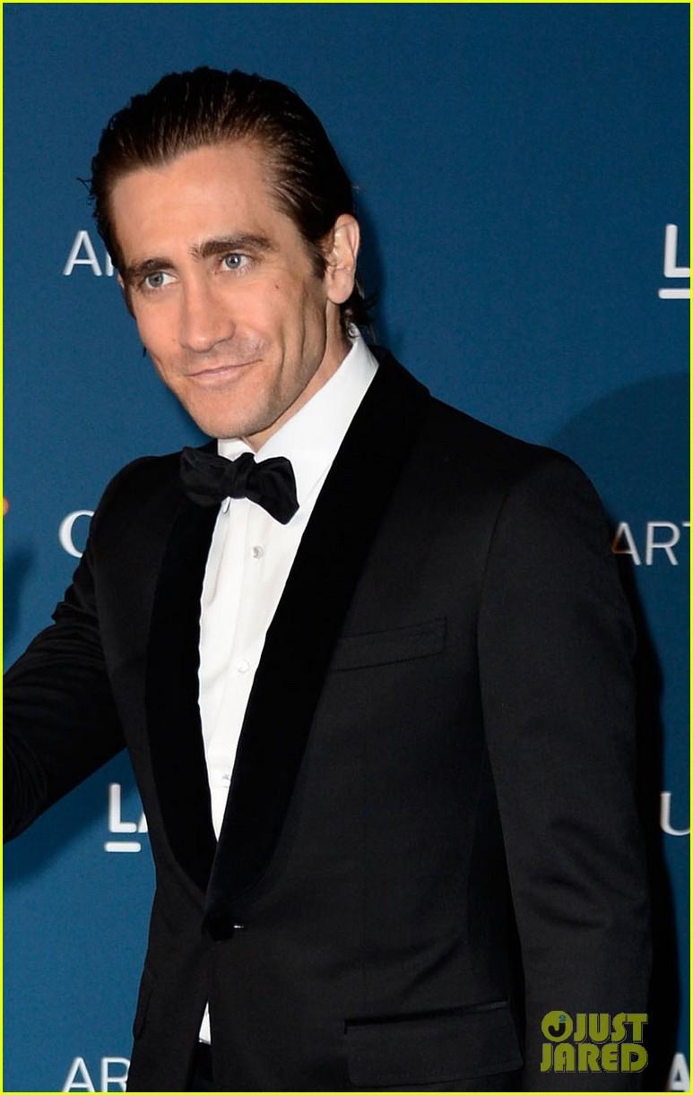 jake gyllenhaal zoe saldana lacma art film gala 2013 082985422
