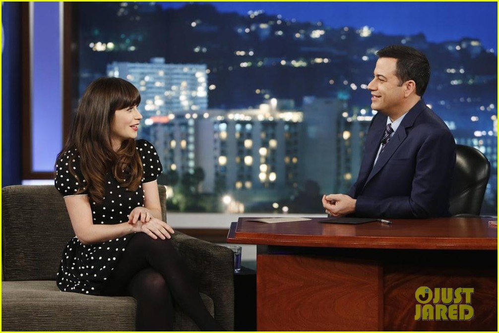 zooey deschanel jimmy kimmel live watch now 04