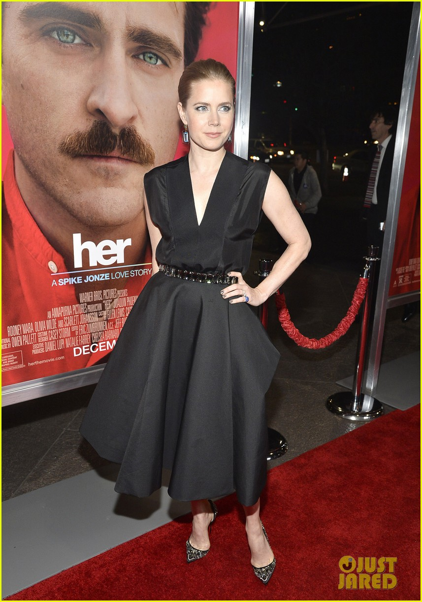 amy adams joaquin phoenix her los angeles premiere 14