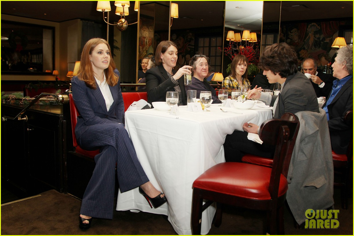 amy adams rocks pinstriped pantsuit at her luncheon 033009167