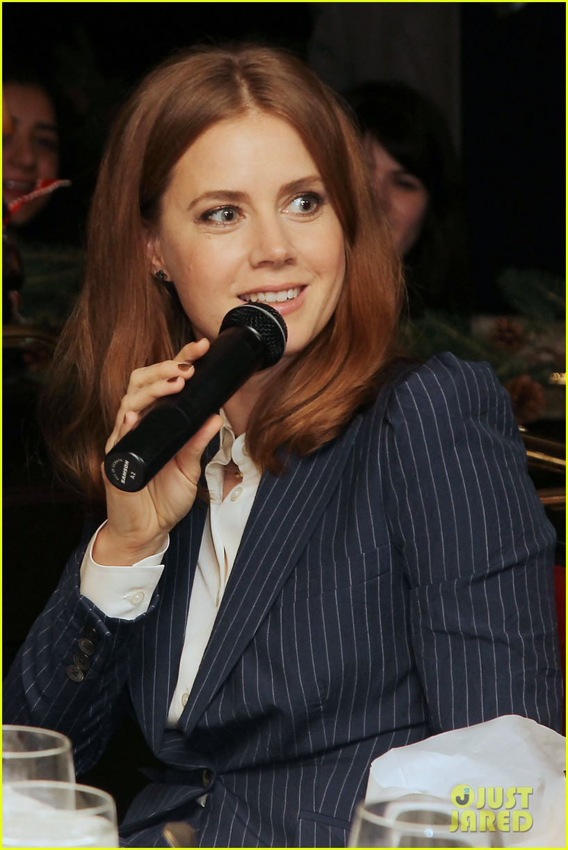 amy adams rocks pinstriped pantsuit at her luncheon 043009168