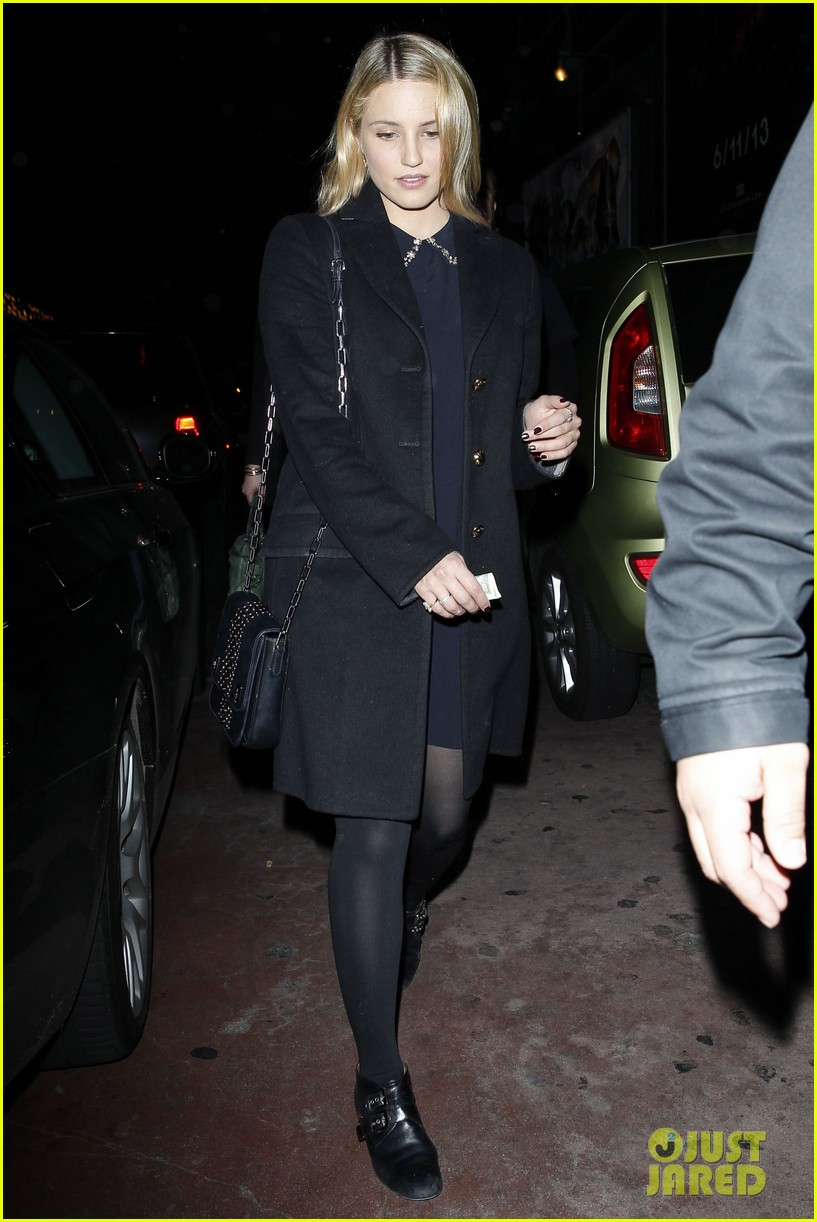 dianna agron supports glees amber riley at holiday concert 033017048